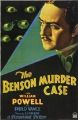 The Benson Murder Case 1930 DVD - William Powell / William 'Stage' Boyd